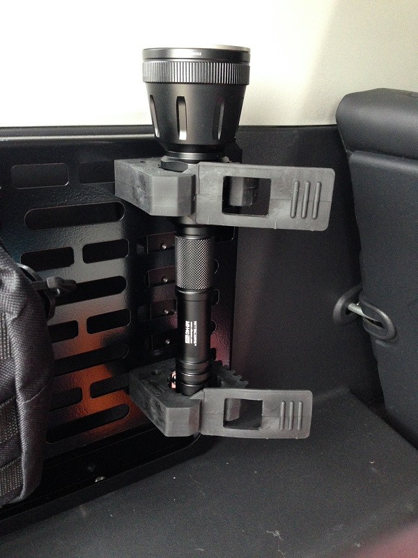 MH40 Thor Installed in Rear of FJ Cruiser