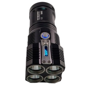 Not the World's Brightest Overall But a Powerful Handheld LED Flashlight - TM26